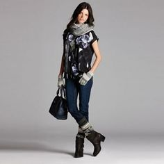 Simply Vera Vera Wang Easy Living Look 6 - Women's