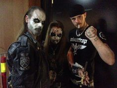 Taake's Hoest, Carpathian Forest's Nattefrost and Shining's Niklas Kvarforth