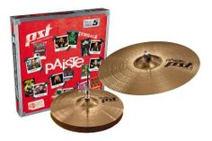 Paiste PST 5 Cymbal Essential Set Only Setup 13-inch/18-inch by Paiste. $219.60. Paiste Sound Technology-the fusion of Paiste's Swiss cymbal sound know-how with German hi-technology manufacture, PST cymbals represent a breakthrough combination of quality and value, and convince with superior sound and appearance.