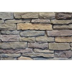 Ply Gem Stone Shadow Ledgestone 10 Sq Ft Shade Mountain