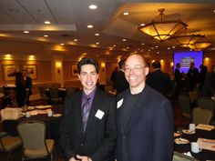 This year Dr. Tom Denham will be mentoring Brandon Farinaccio as part of the Albany Albany-Colonie Regional Chamber's GenNEXT Program.  He's a great guy that's going places. - January 2014