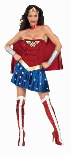 DC Comics Secret Wishes Deluxe Wonder Woman Costume, Blue/Red, Small (2-6) Rubie's Costume Co,http://www.amazon.com/dp/B000UV3K4W/ref=cm_sw_r_pi_dp_A9E2rb006Q7EBG07