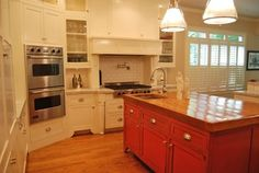 Kitchen corner wall oven Design Ideas, Pictures, Remodel and Decor