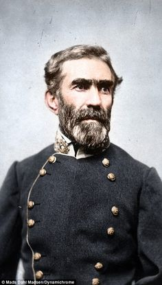 General Braxton Bragg; contentious commander of the Confederate Army of Tennessee.