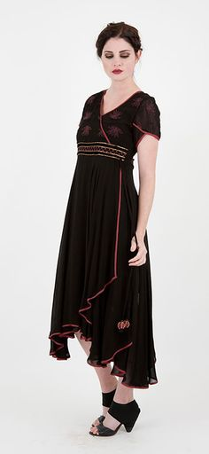 Asian style vintage dress