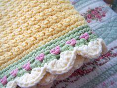 it's a girl   yarnaway: a crochet scrapbook  ✿Teresa Restegui http://www.pinterest.com/teretegui/✿