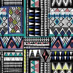 Tribal Patchwork by Shveta Maini