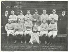 Check out the amusing antique Everton FC football style