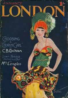 "Wilton Williams. LONDON January ""choosing a chorus girl"" by C.B. Cochran. Lawn Tennis by Mlle Lenglen"