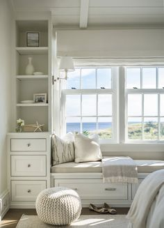 What's cosier than a window seat with a view?