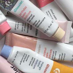 Lip balms by Glossier😍😍😍 Beauty Care, Beauty Skin, Beauty Makeup, Glossy Makeup, Skin Makeup, Lip Care, Body Care, Balm Dotcom, Lipgloss