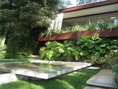 Ohara House 1, Neutra Colony. 1961. Los Angeles, California. Richard Neutra.