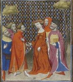 Giovanni Boccaccio, De Claris mulieribus; Paris Bibliothèque nationale de France MSS Français 598; French; 1403, 83v. http://www.europeanaregia.eu/en/manuscripts/paris-bibliotheque-nationale-france-mss-francais-598/en