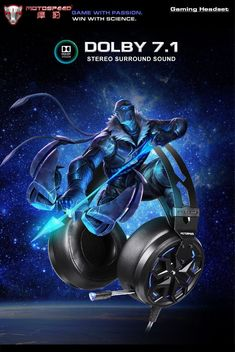 H60 Wired game headphone