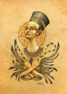 nefertiti tattoo - Sök på Google