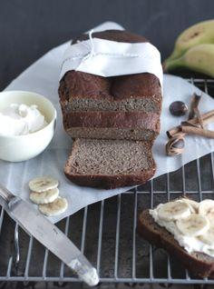 #Banting #LCHF Banana Bread (grain & sugar free)