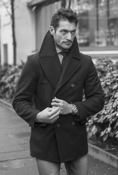 HQ - David Gandy on Day 1 of London Collections: Men 2016