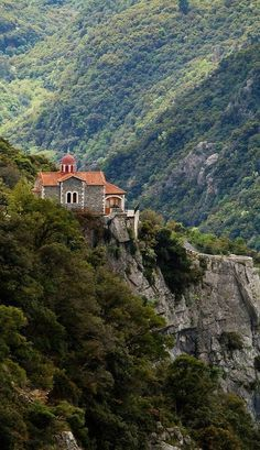 Great Places, Places To See, Beautiful Places, Sacred Architecture, Beautiful Architecture, Arcadia Greece, Greece Travel, Nature Images, Beautiful Islands