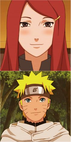 Naruto and his mother