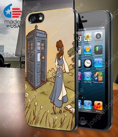 Belle Tardis Case for iPhone 4/4S 5/5S and by josgandoscase, $14.79
