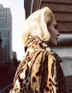 """When Life Was Exotic"" | Model: Nadja Bender, Photographer: Camilla Akrans, Vogue Japan, April 2013"