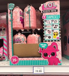 FUZZY PETS 🐶🐰🐱 Spotted at 💖 Who is your favourite Fuzzy pet? We are hoping to unbox Eau Splatters 🎨 -… Spotted Animals, Toys R Us Canada, Your Favorite, Lol, Pets, Instagram, Fun