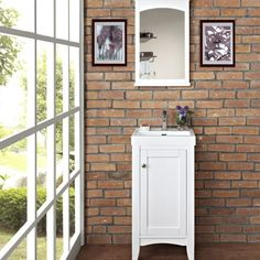 In need of some bathroom vanity ideas? Check out our Shakers American vanity collection. Ideal for modern bathrooms these vanities can complete your bathroom remodel. This collection is available in 18″, 21″, 24″, 30″, 36″, 42″, 48″ and 60″ sizes. It is available in 2 colors: Light Gray and Polar White.