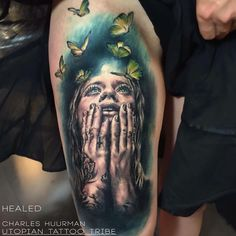 Check out this piece from @charlyhuurman #inkedmag #inkedshop #inkedgirls #tattoo #tattoos #art #freshlyinked