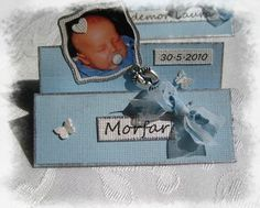 . Mariannes hobbyhage / Playpen: Bordkort til dåp - i z fasong Christening, Laos, Tablescapes, Cardmaking, Stampin Up, Place Cards, Invitations, Crafts, Scrapbooking