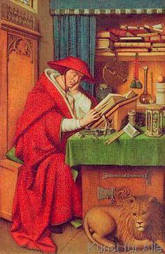 Jan Van Eyck - Hl. Hieronymus im Gehäuse
