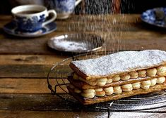 Milk Tart Mille Feuille recipe – All 4 Women Butter Puff Pastry, Milk Tart, Tart Filling, South African Recipes, Healthy Family Meals, Fresh Cream, Christmas Desserts, Delicious Desserts, Sweet Treats