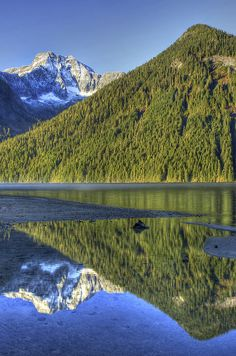 Chilliwack lake provincial park, British Columbia, Canada