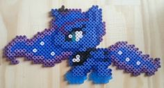 MLP Luna Hama beads by Nana-Lucy on deviantART