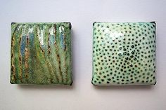 Textures at Home [Enameled copper.]