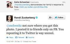 A valuable lesson from Randi Zuckerberg: Online privacy is complicated
