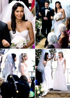 Glee brittany wedding dress