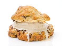 Levain chocolate chip walnut cookie + Grom hazelnut gelato