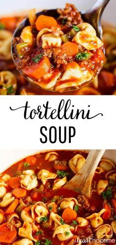 Sausage Tortellini Soup, Sausage Soup, Soup Recipes, Cooking Recipes, Healthy Recipes, Sausage Recipes, Healthy Options, Recipes Dinner, Easy Recipes