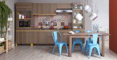 Uma cozinha cheia de cores e vida para dar as boas-vindas ao Natal! E que comecem as comemorações!!! Produtos: - Cadeira Tolix Azul; - Depurador de Ar Colormaq Branco 6 Bocas 80cm Bivolt; - Pote Para Biscoito Galvanizado; - Mesa Extensível Laura Cedro; - Liquidificador Trapéze 127V Vermelho Cadence;  #producaomobly #inspiration #homedecor #inspiracao #casaedecoracao #casaejardim #moblybr #mobly #minhacasa #casa #decoration #homesweethome #saladeestar #saladejantar #pendente…