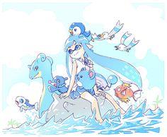 Splatoon and Pokémon water types