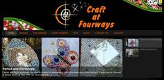 Craft At Fourways School Holiday Party, School Holidays, Holiday Parties, Club Parties, Craft Club, Decoupage, Mosaic, Workshop, Books