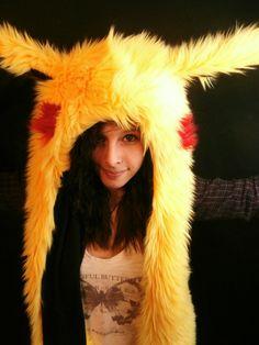 Pikachu Rave Hat by KawaiiAtama on Etsy, $60.00