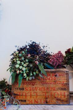 Gardenista || Wild Folk Studio #flowers #crate