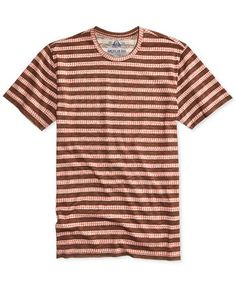 9c5f8facf2a American Rag Men s Ditsy Stripe T-Shirt