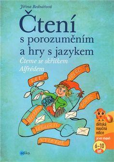 Kniha je určena dětem ve věku 6 až 10 let, všechny strany jsou ilustrované. Pracovní listy jsou určeny dětem, které se učí číst  a ve čtení se zdokonalují. Speech Therapy, Adhd, Teaching, Activities, Logos, School Stuff, Presents, Princess, Literature