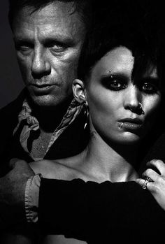 """Daniel Craig and Rooney Mara, """"The Girl With The Dragon Tattoo"""""""
