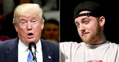 Donald Trump 'raps�...