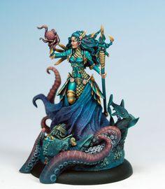 Marike - Guardian of the Sea - Visions in Fantasy - Miniature Lines