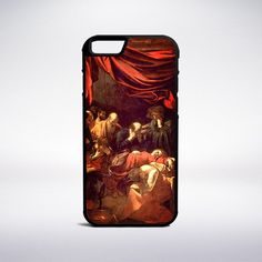 Caravaggio - Death Of The Virgin Phone Case – Muse Phone Cases