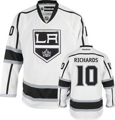pretty nice 9be83 58d5f los angeles kings mike richards 10 black replica jersey sale